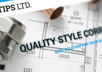 Фирмен сайт и уеб лого за Типс-БГ