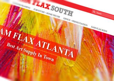 Webstore for Sam Flax Atlanta