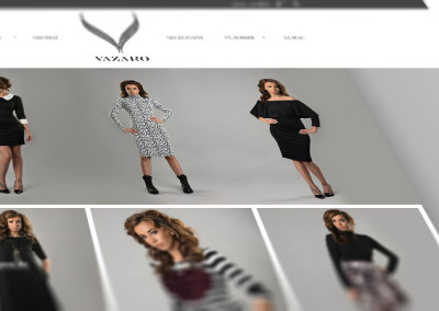 E-commerce Website/Online Shop for Vazaro