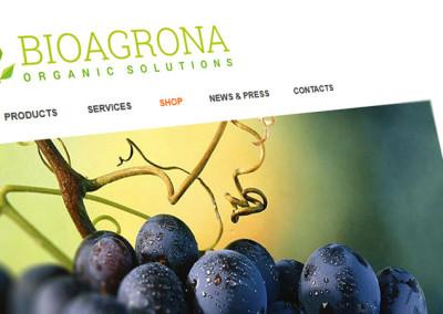 Уеб магазин и уеб лого за Биоагрона