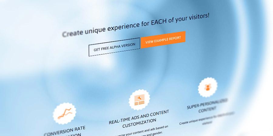Дизайн и индивидуална система за регистрация и логин за Smartalyze
