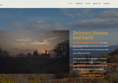 Дизайн на фирмен сайт за BulDoc.eu
