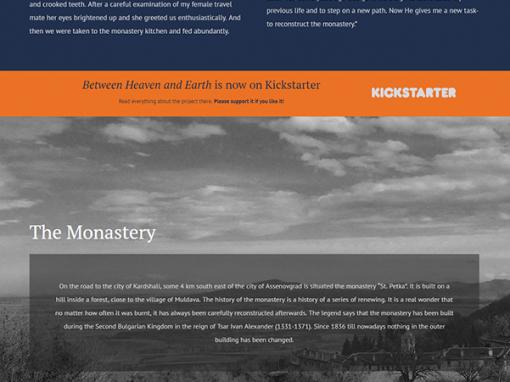 Responsive Design of a Film Company Website