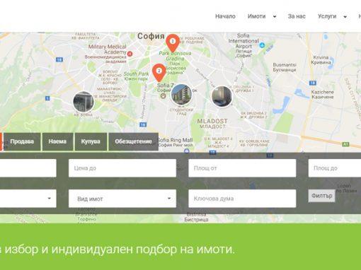 Сайт за брокер на недвижими имоти